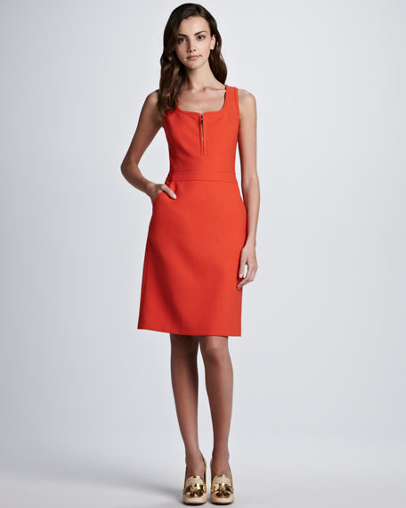 Zachary Sleeveless Pocket Dress