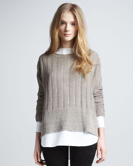 Loose Beach Sweater