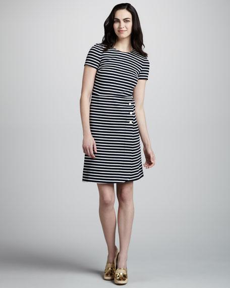 Kamilla Striped Knit Dress