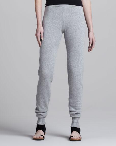 Slouchy Cashmere Pants, Mist