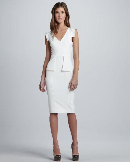 Keyton Peplum Dress