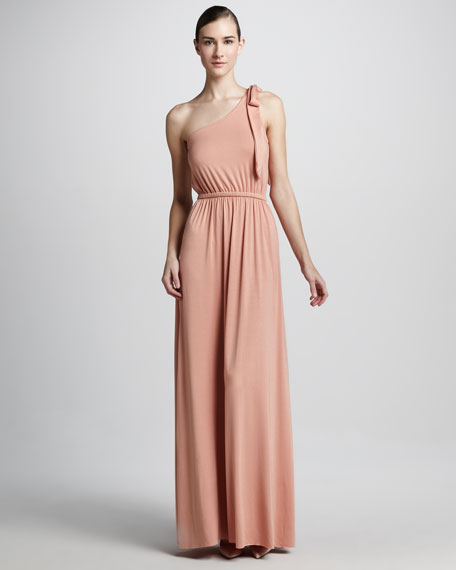 Felix One-Shoulder Maxi Dress, Women's