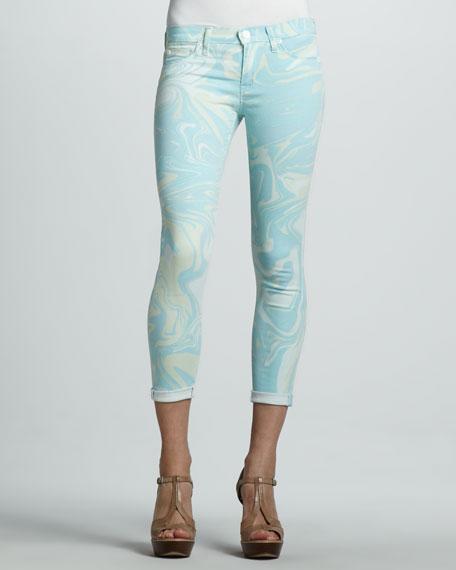 Harkin Cropped Skinny Jeans, Dazed