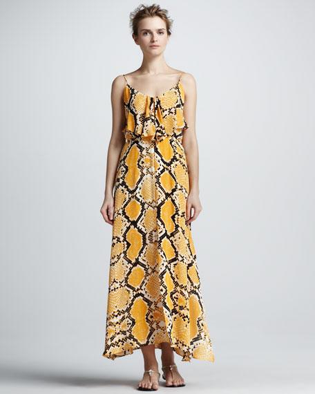 Python-Print Maxi Dress