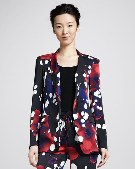 Vint Splash-Print Jacket