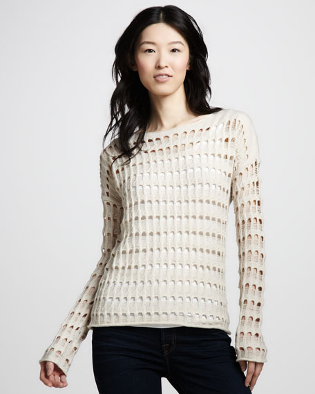 Rhodes Open-Knit Sweater