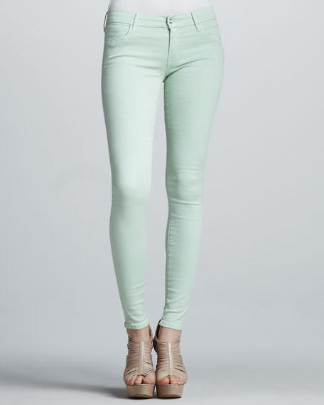 Koral Skinny Pastel Jeans, Mint