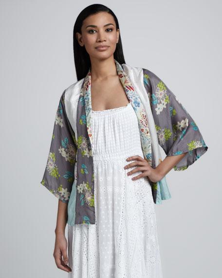Cropped Kimono Top, Women's