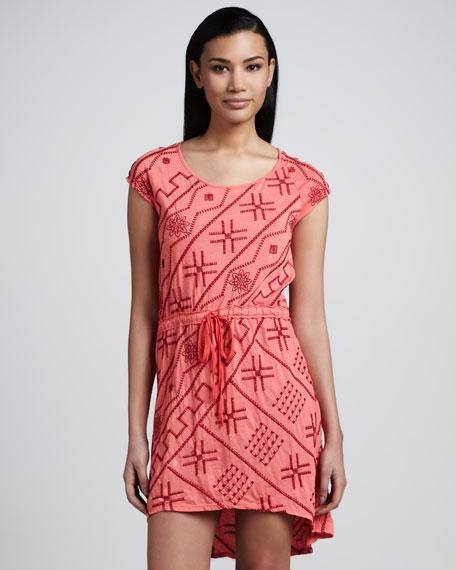 Saffron Drawstring Dress