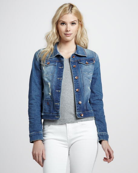 Simone Dangerous Denim Jacket