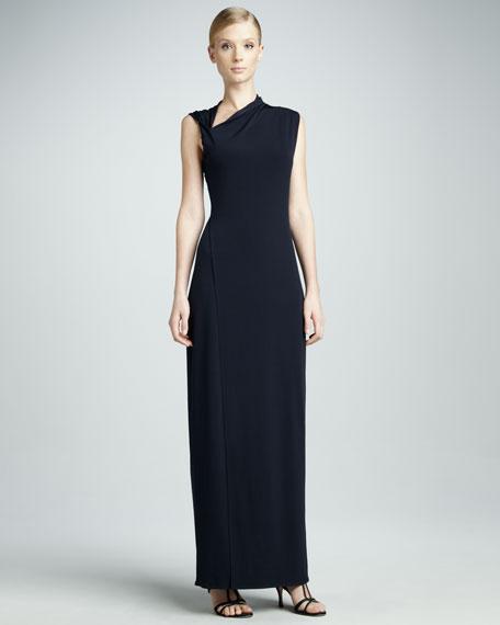 Jeanie Asymmetric Maxi Dress