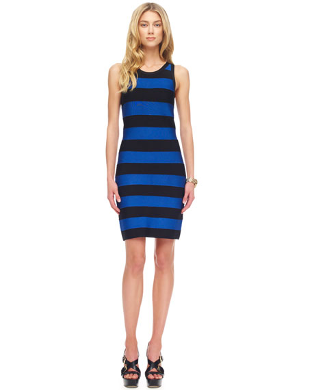 Striped Bandage Dress