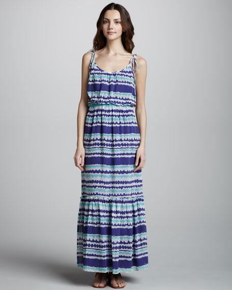 Dream Team Surf Stripe Maxi Dress