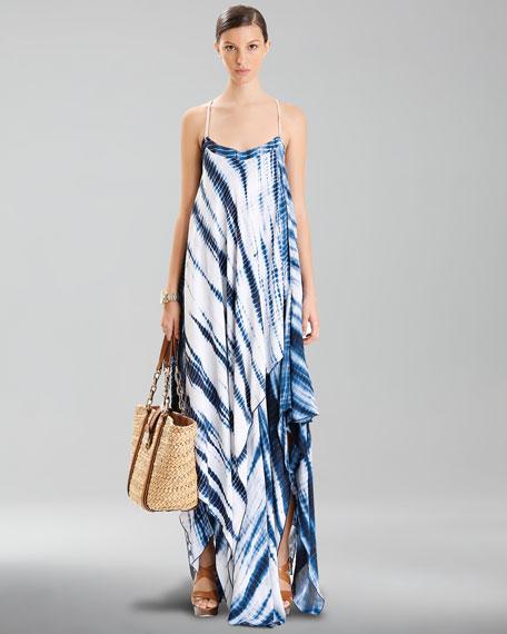 Printed Layered Maxi Dress