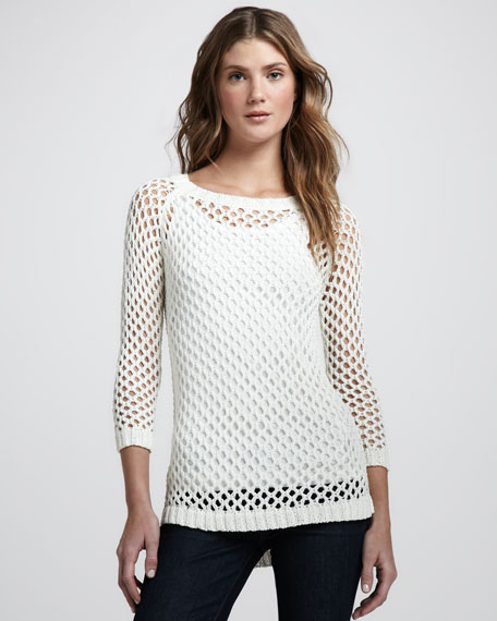 Addler Mesh Knit Sweater