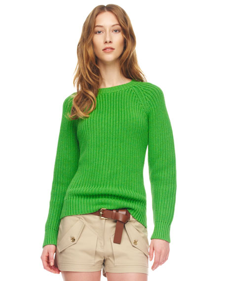Knit Shaker Sweater