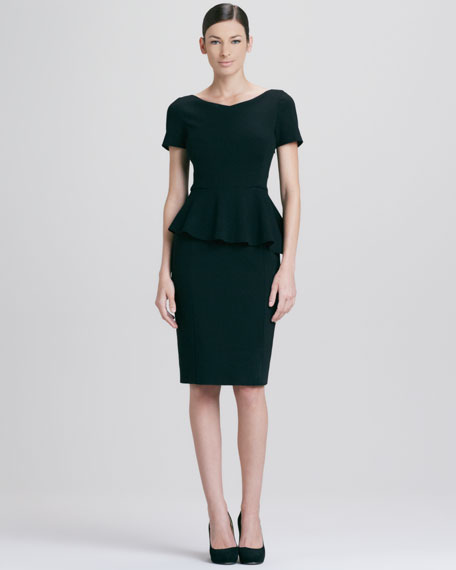Helma Peplum Dress