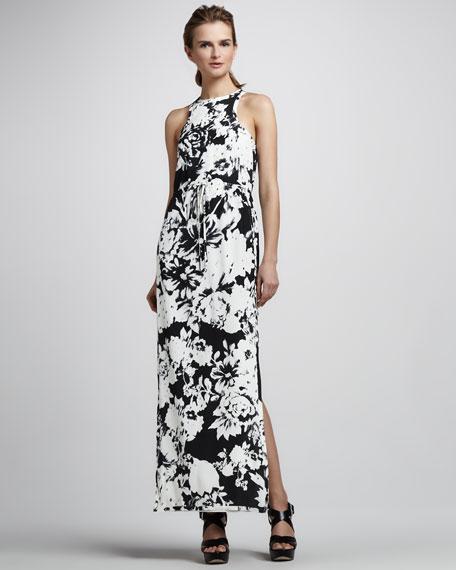 La Ville Printed Maxi Dress