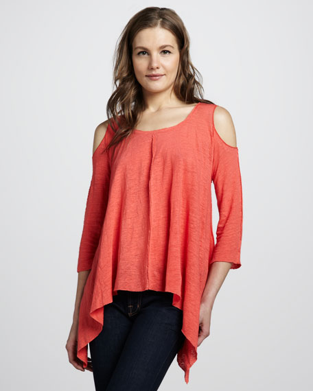 Mariposa Cold-Shoulder Top