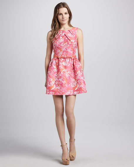 Hailey Floral-Print Dress