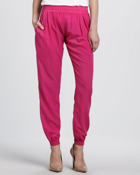 Relaxed Pull-On Pants