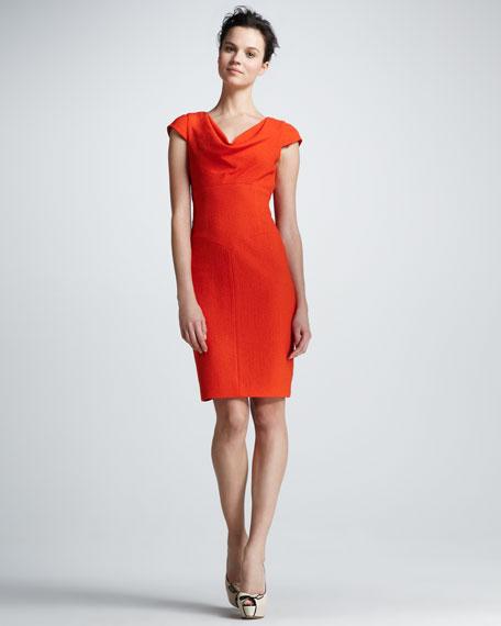 Gretchen Cowl-Neck Dress