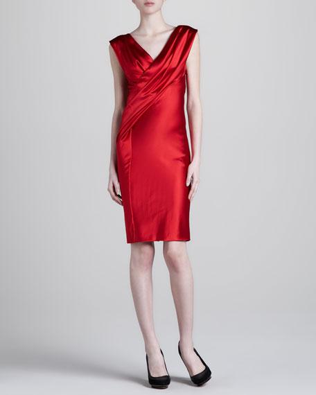 Twisted Drape Dress