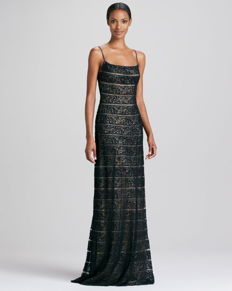 Lace Slip Gown