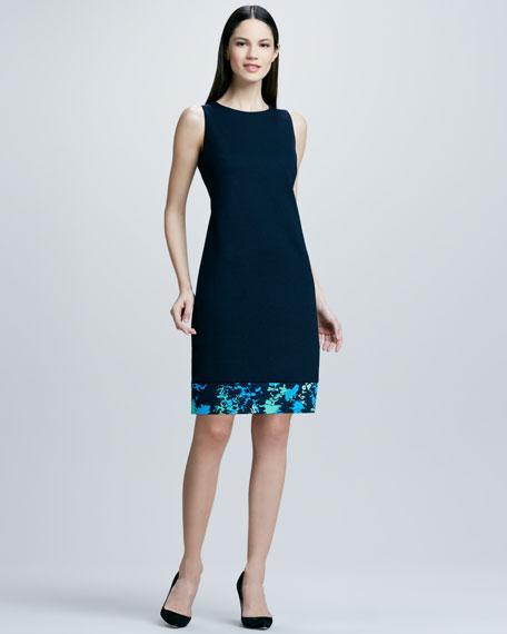 Fran Print-Hem Dress