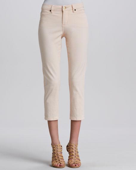Jackie Twill Gab 72 Cropped Pants