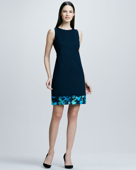 Fran Print-Hem Dress, Women's