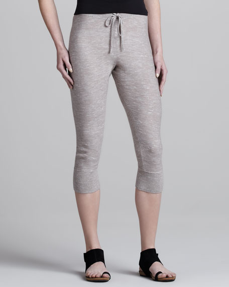 Slouchy Cropped Sweatpants