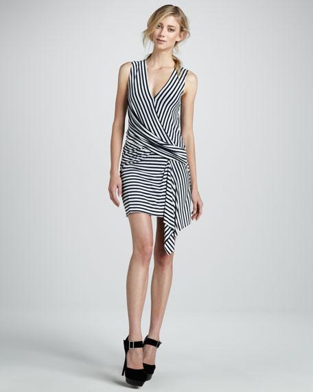 Devil Ray Stripe Dress
