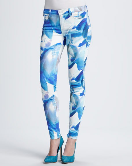 620 Super Skinny Jeans in Blue Orchid