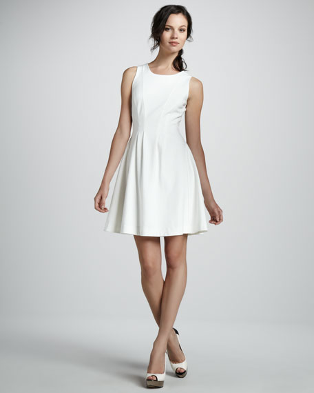 Thalie Sleeveless Fit-and-Flare Dress