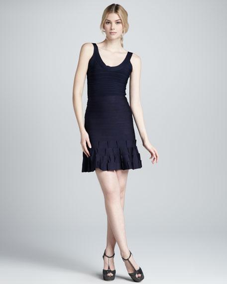 Flare-Hem Bandage Skirt