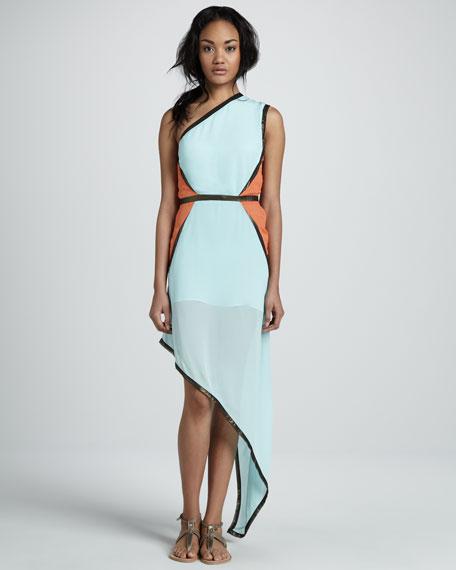 Nostalgic Asymmetric Dress