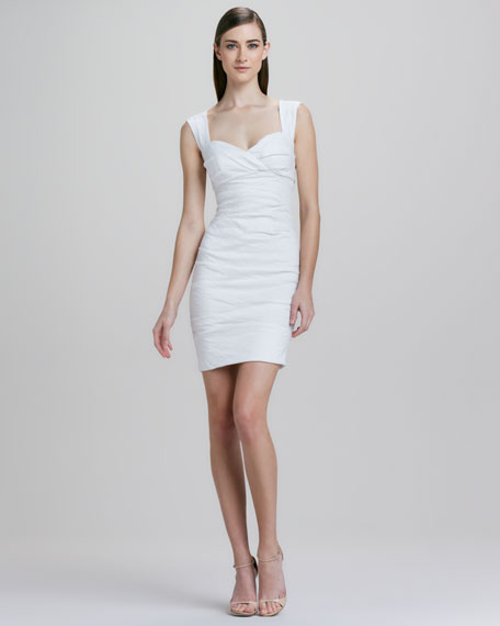Nicole Miller Sweetheart Neckline Cocktail Dress