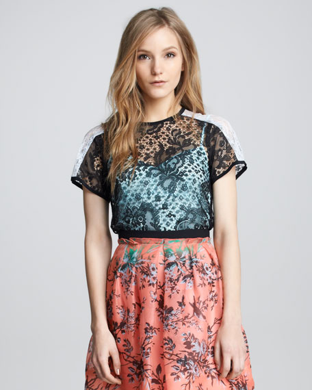 Just Dance Lace Top