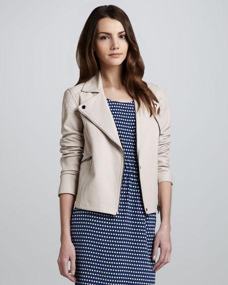 Jett Leather Zip Jacket