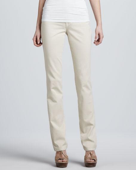 Basic Straight-Leg Jeans