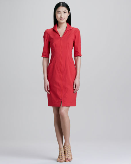 Larissa Zip Dress