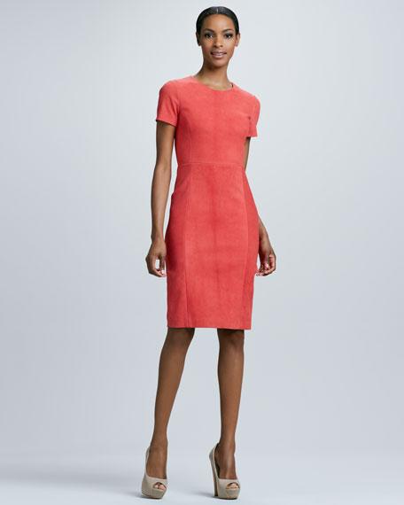 Emily Suede Dress