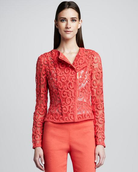 Brenna Swirl Lace Jacket