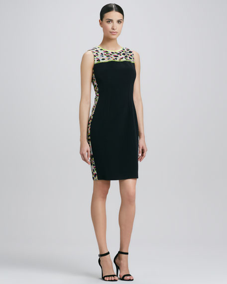 Emory Printed Sheath Dress
