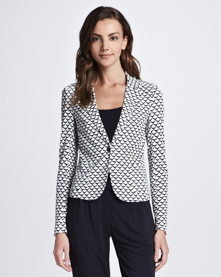 Tory Burch Hayley Printed Jacket