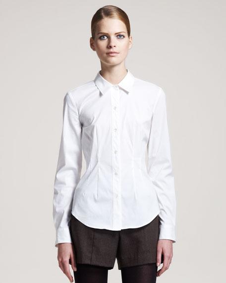 Stretch-Cotton Shirt