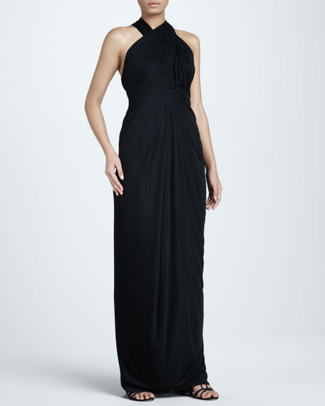 Racerback Jersey Gown
