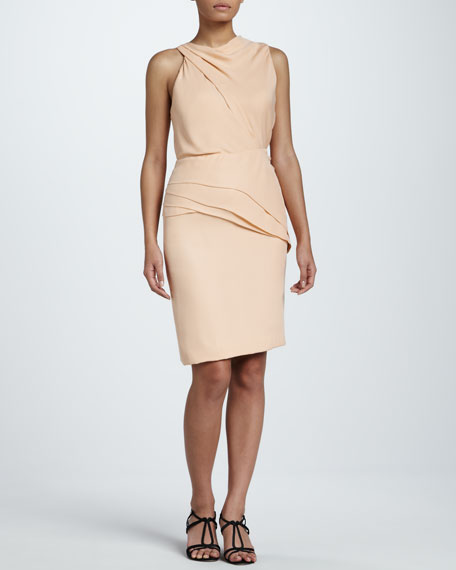 Sleeveless Georgette Dress
