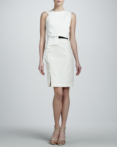 Asymmetric Gazar Dress